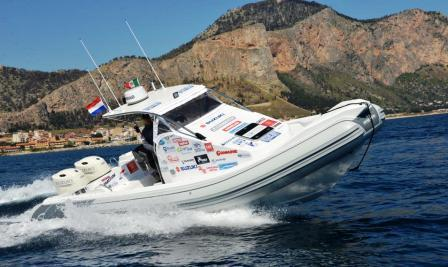 palermo-new york in gommone